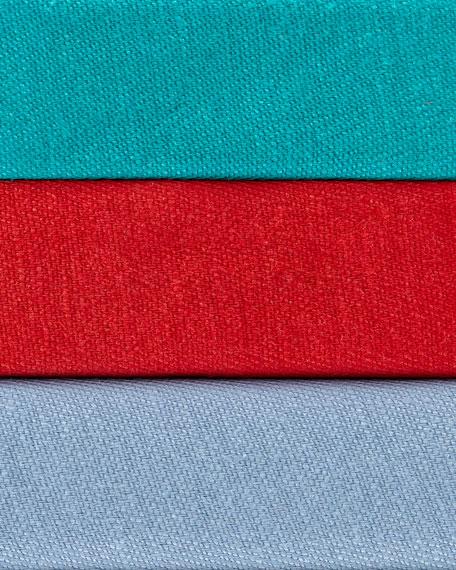 Mackenzie Lavish One-Button Linen Jacket