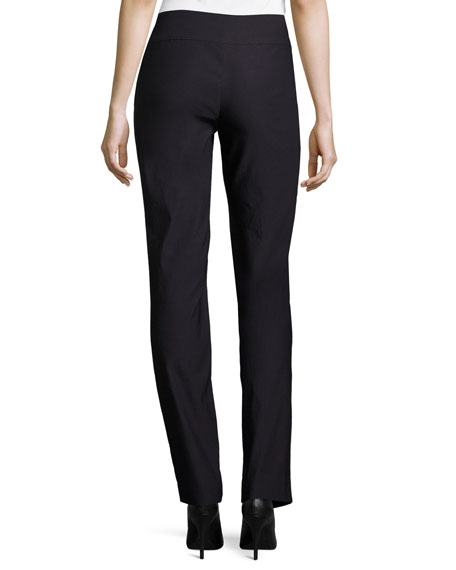 NIC+ZOE Plus Size Wonderstretch Straight-Leg Pants