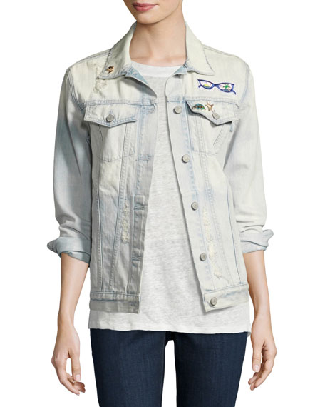 Rails Knox St. Tropez Denim Jacket, Blue