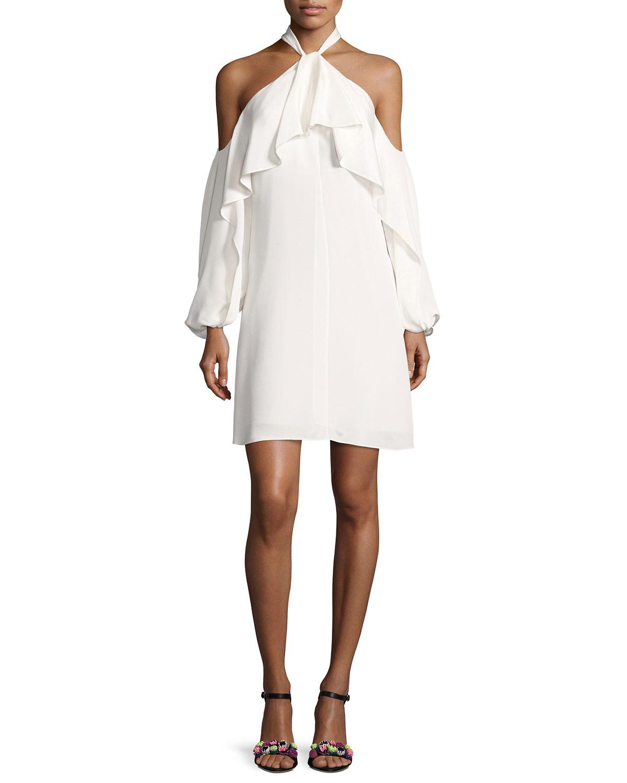 Ivory Cocktail Dress | Neiman Marcus