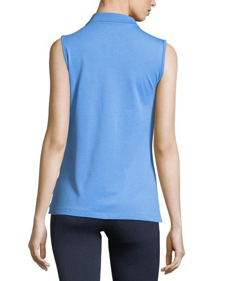 Performance Piqué Sleeveless Polo Shirt