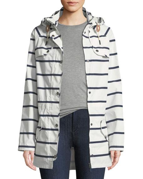 Stripe Trevose Jacket w/ Removable Hood