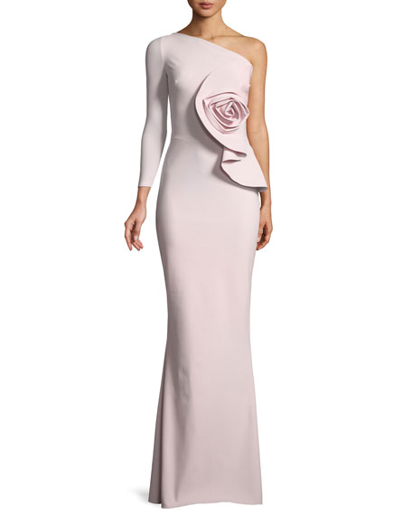 Chiara Boni La Petite Robe Noriko 3D Rose