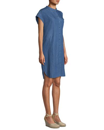 Ihsana Denim Tunic Dress