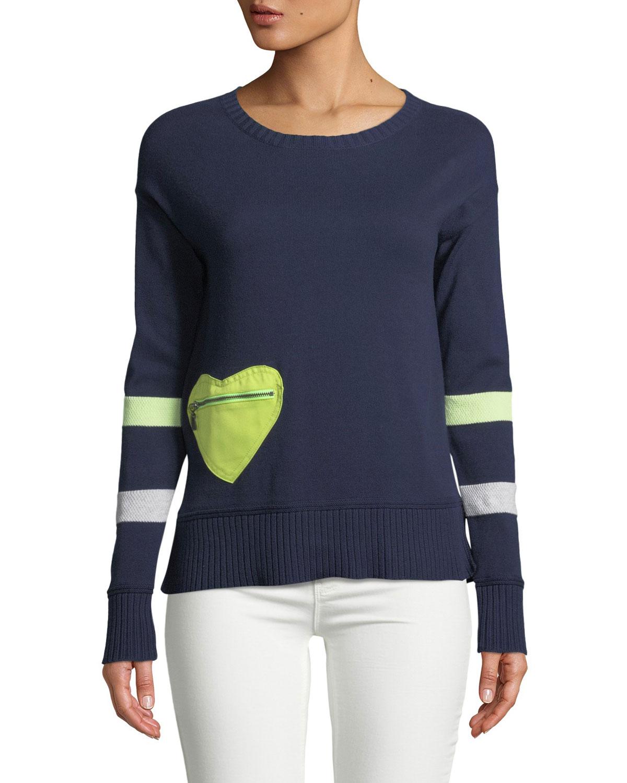 Lisa Todd Heartthrob Cotton Cashmere Sweater Plus Size Neiman Marcus