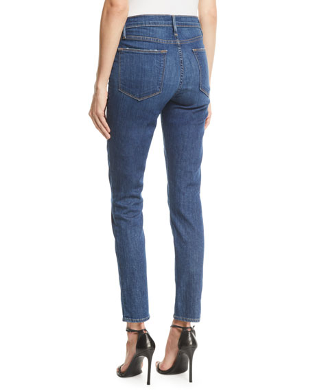 Image 2 of 3: FRAME Le High Skinny Stretch Ankle Jeans