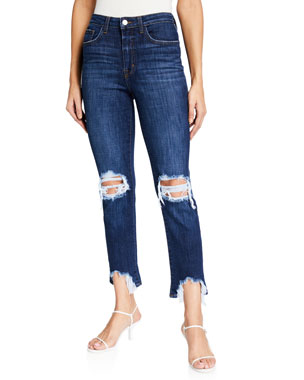 19e0cddb392bc Designer Jeans for Women at Neiman Marcus