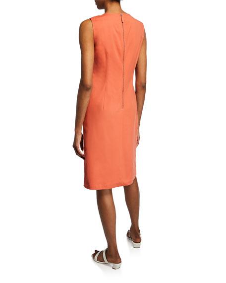 Lafayette 148 New York Ensley Sleeveless Fundamental Bi-Stretch Dress