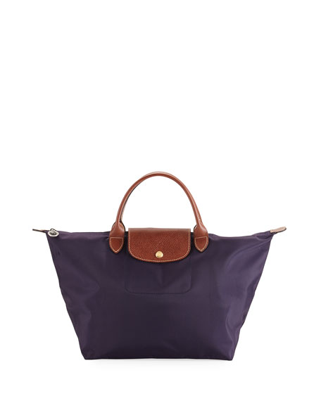 Longchamp Le Pliage Medium Handbag, Navy