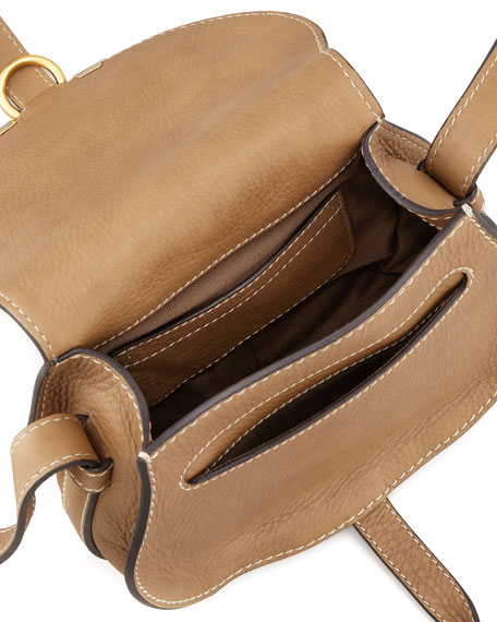 Image 3 of 3: Marcie Small Leather Crossbody Bag