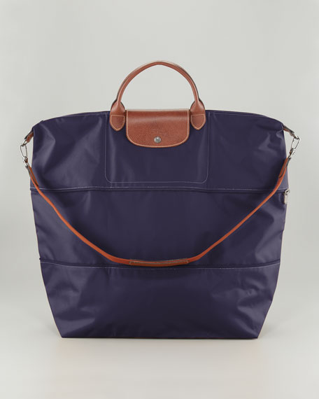 Le Pliage Expandable Travel Bag, Bilberry