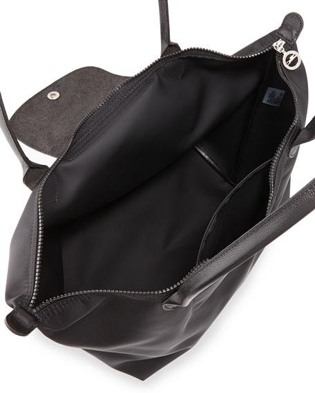 8f9843c6c Image 2 of 3: Longchamp Le Pliage Neo Large Nylon Shoulder Tote Bag, Black