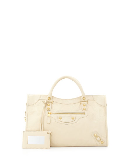 Giant 12 Silver City Bag, Cream