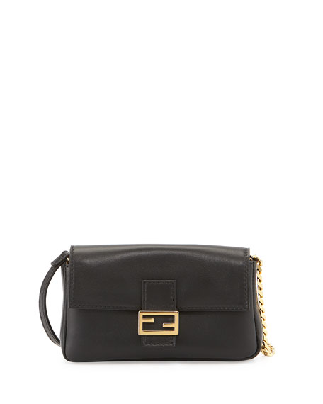 Fendi Micro Leather Baguette ce18630f6befd