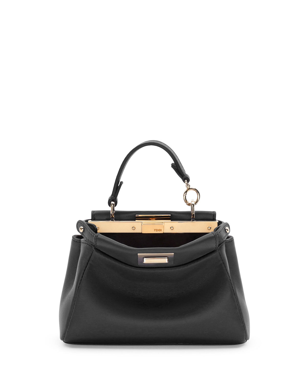 f284ce222d57 Fendi Peekaboo Micro Satchel Bag
