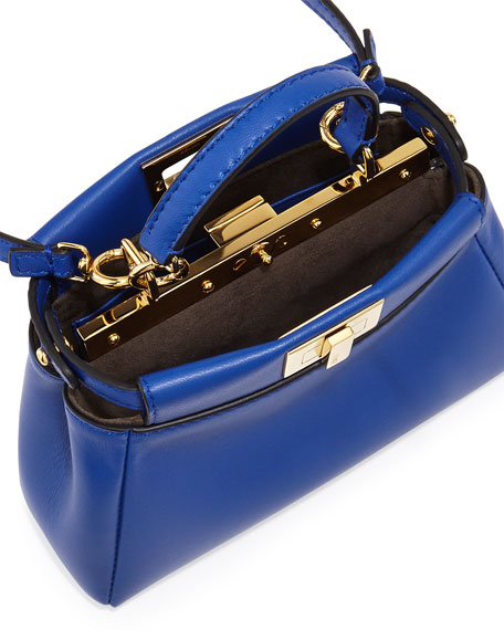 4a7cba89 Peekaboo Micro Satchel Bag Blue