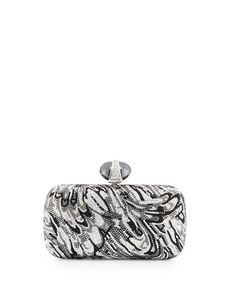 Judith Leiber Couture New Soap Dish Crystal Clutch