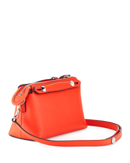 By the Way Mini Satchel Bag, Red Orange
