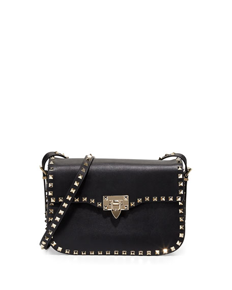 Rockstud shoulder bag - Black Valentino 1B0uTik