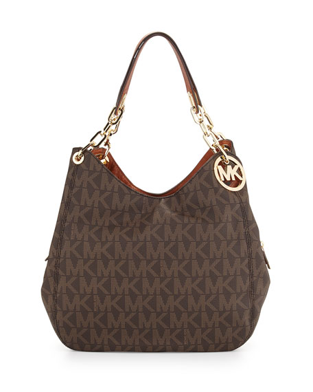 MICHAEL Michael Kors Fulton Large Tote Bag, Brown