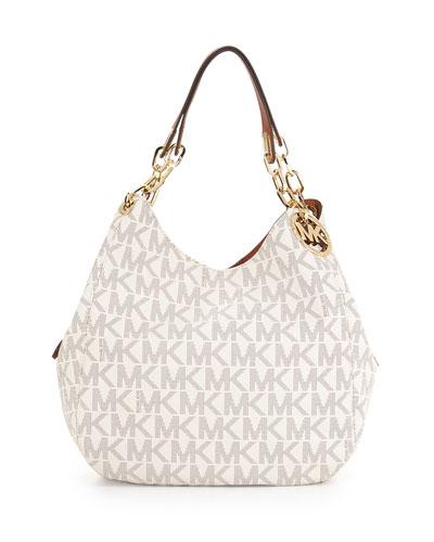 Fulton Large Tote Bag, Vanilla