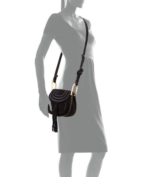 Hudson Mini Suede Shoulder Bag