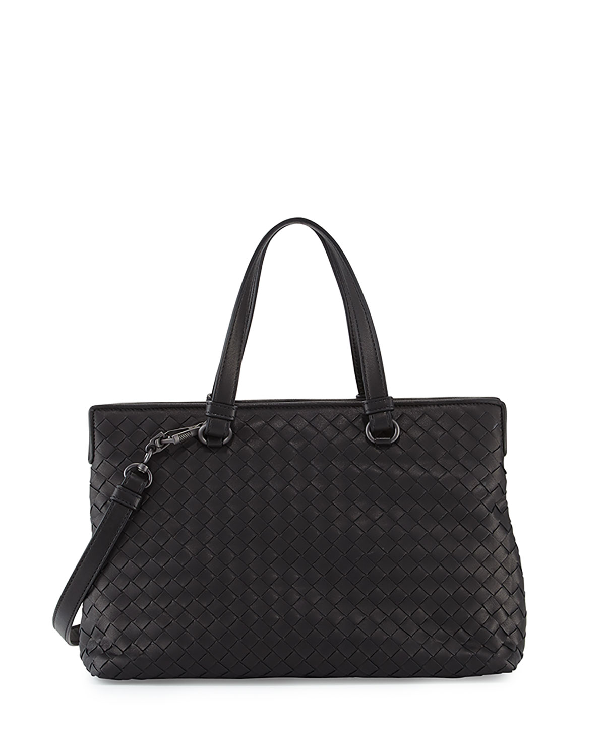 Bottega Veneta Medium Intrecciato Nappa Top Handle Bag  afbab66a038e4