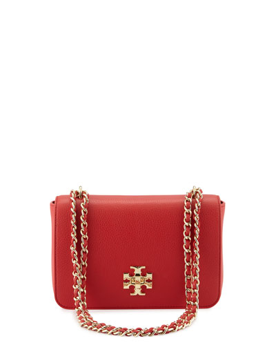 Mercer Adjustable-Strap Shoulder Bag, Vermillion