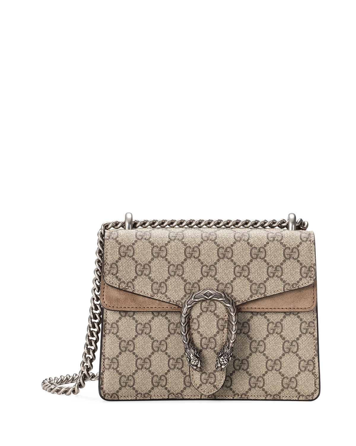 b1abdb7e6966 Gucci Mini Dionysus GG Supreme Shoulder Bag