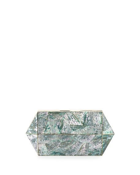 Annabelle Bullet Minaudiere, Green