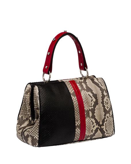 parda hand bags - prada arcade bag red