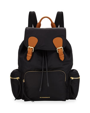 f5a98b812fb1 Burberry Medium Rucksack Runway Nylon Backpack