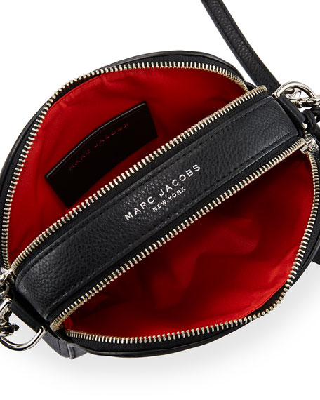 Shutter Small Leather Camera Bag