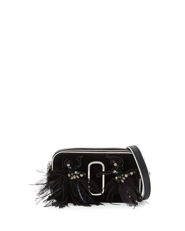 97308ce17e58 Marc Jacobs Snapshot Small Velvet Camera Bag