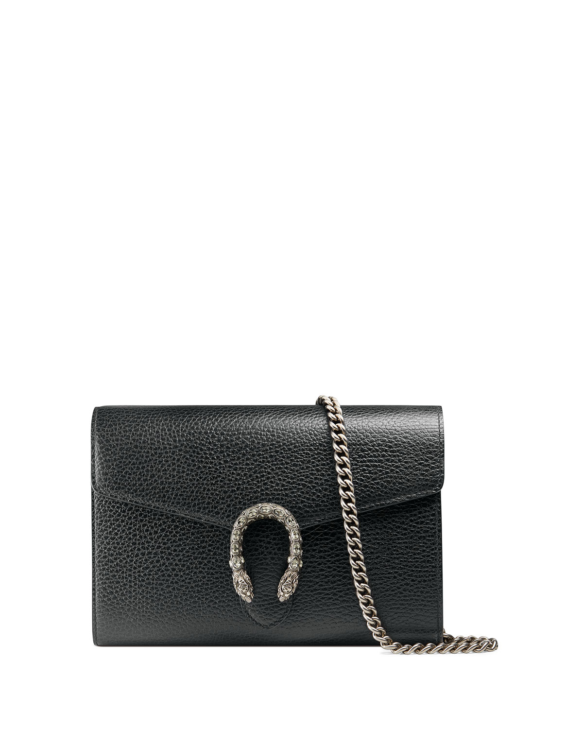 06e2b480672 Gucci Dionysus Leather Mini Chain Bag