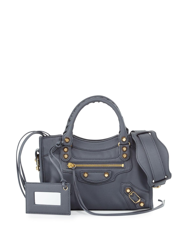 504f517183e7 Balenciaga Classic Mini City Nylon Tote Bag