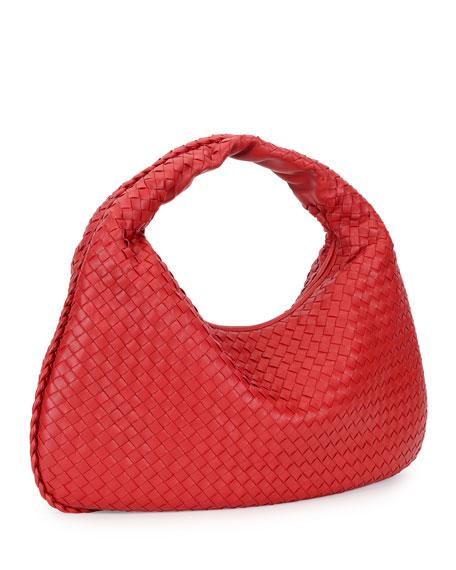 Veneta Intrecciato Large Hobo Bag