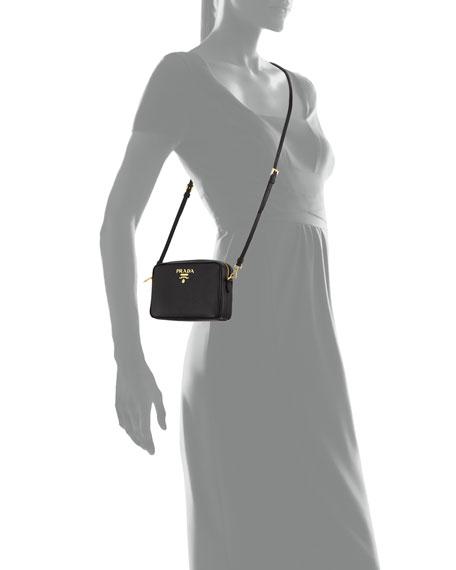 985ea07a5 Prada Saffiano Leather Camera Bag | Neiman Marcus