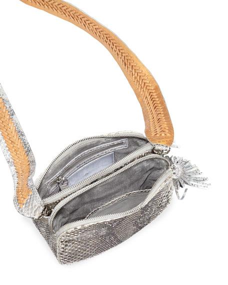 Python Small Camera Crossbody Bag