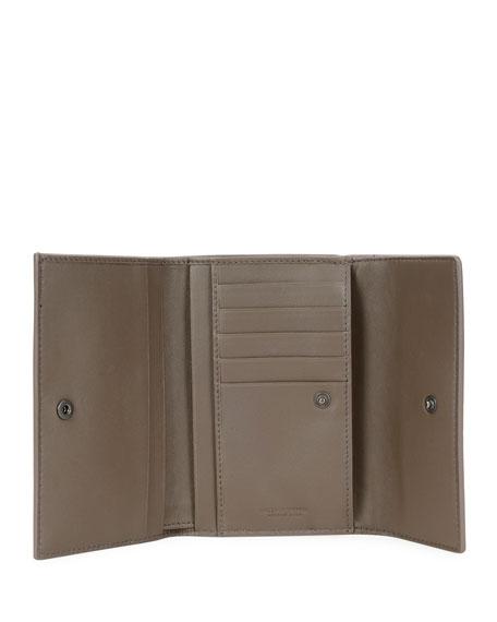 Intrecciato Napa Tri-Fold Wallet