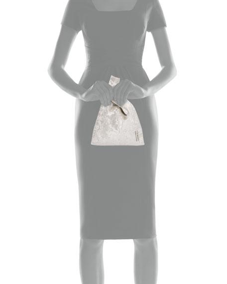 Hayward Hayward Mini Velvet Shopper Top Handle Bag