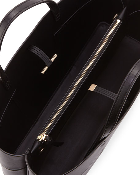 Block-T Triple Compartment Tote Bag