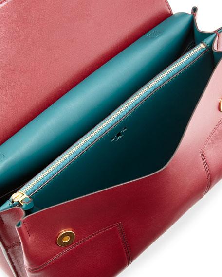 Block-T Top-Handle Satchel Bag