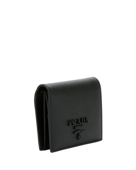 Saffiano French Wallet