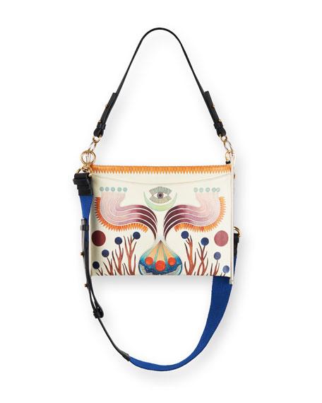 Chloe Roy Animal-Print Clutch Bag