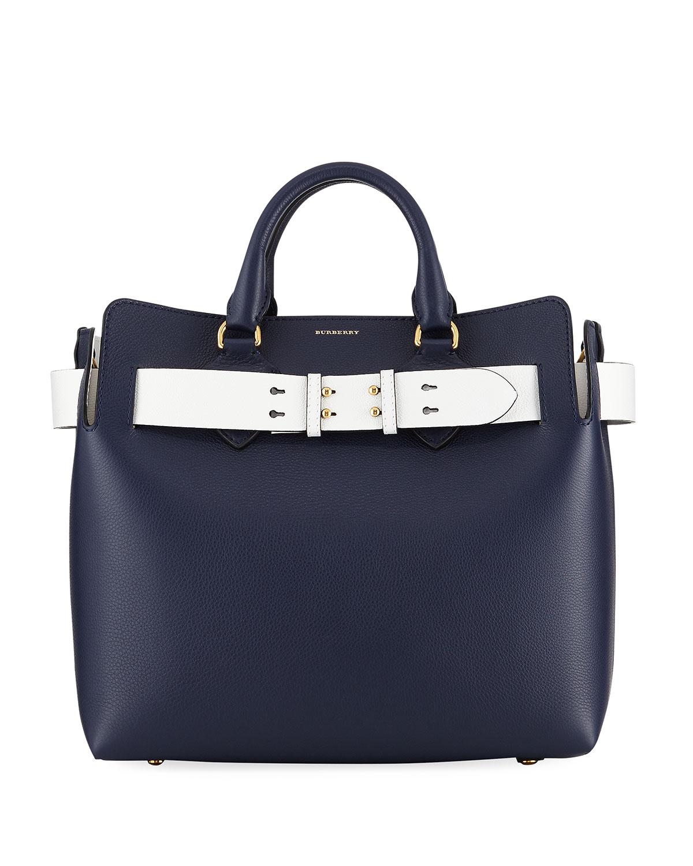 3371456b38a7 Burberry Marais Medium Belt Top Handle Bag