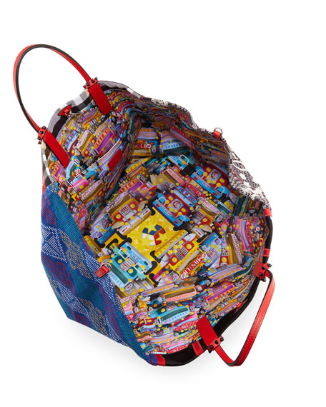 Manilacaba Multi-Pattern Tote Bag