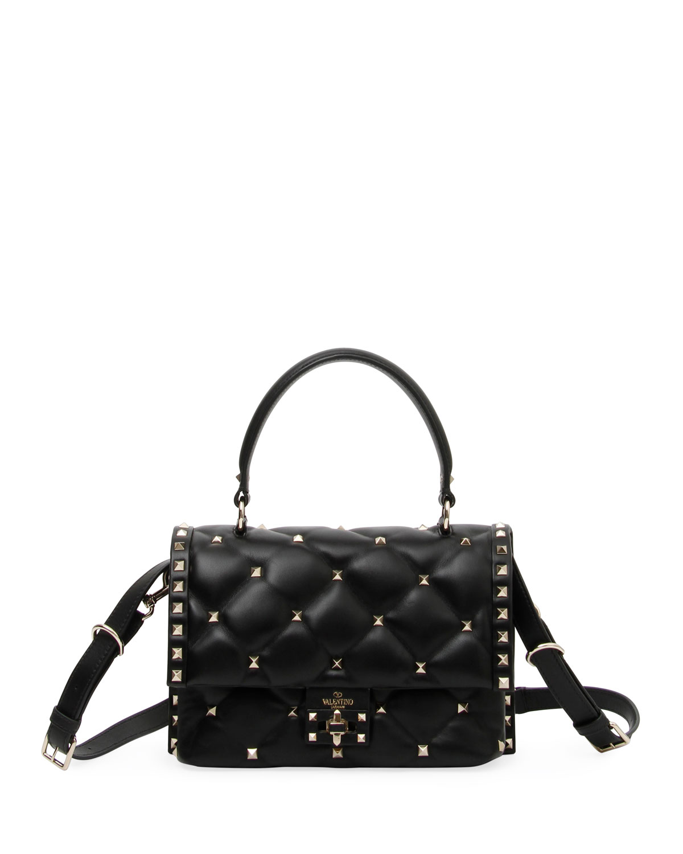 605b1bd0b59 Valentino Garavani Candystud Quilted Shoulder Bag | Neiman Marcus