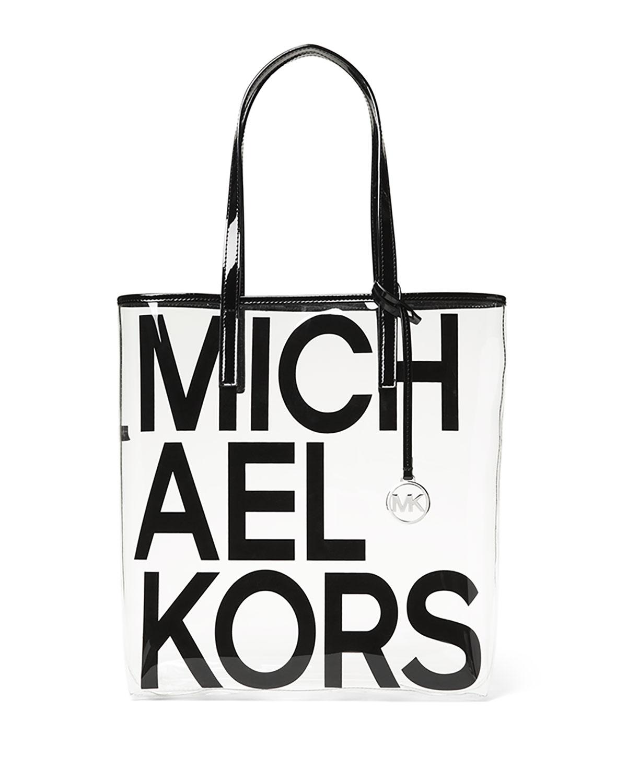 23cfaf2b8fee2b MICHAEL Michael Kors The Michael Large North/South Logo Tote Bag ...