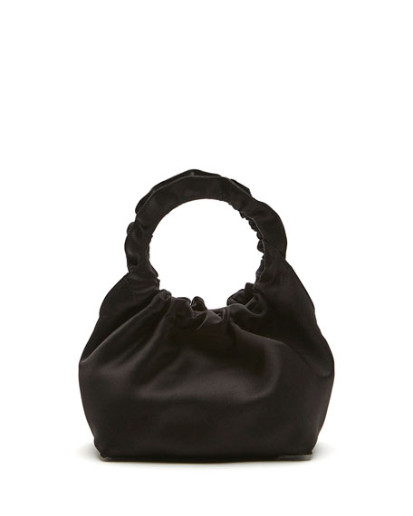 THE ROW Double Circle Small Top Handle Bag